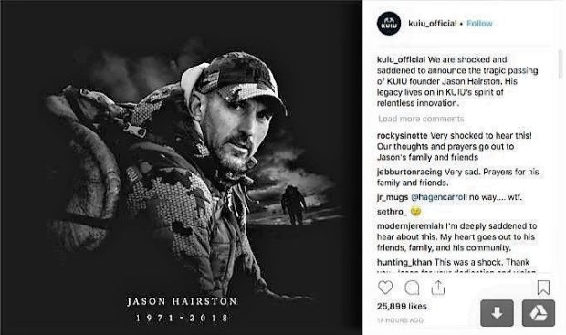 Ceo Of 50 Million Hunting Apparel Company Dies After Trip
