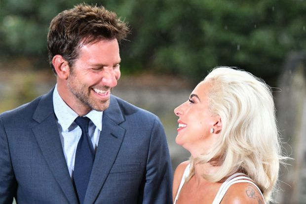 c31bed6fd7e Bradley Cooper and Lady Gaga at the 75th Venice Film Festival. (Photo by  VINCENZO PINTO AFP Getty Images)