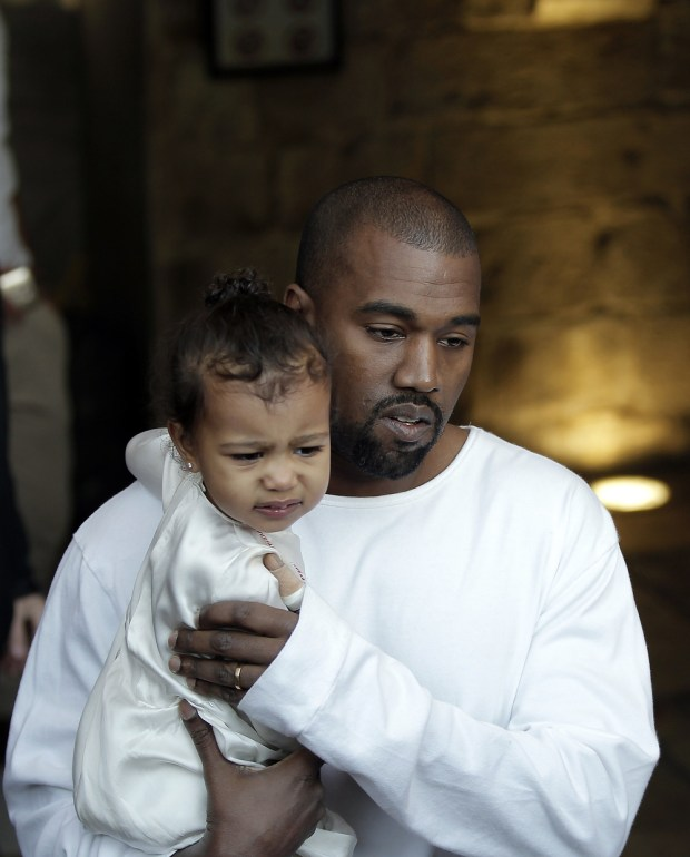 Kanye West's kids are used to him not being 'around much,' reports says