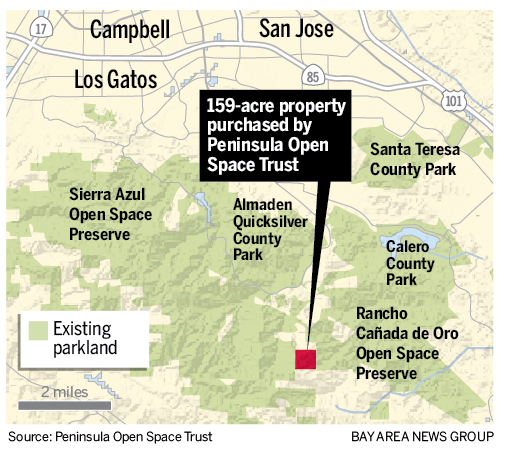 New land deal links 31,000 acres of open space near San Jose