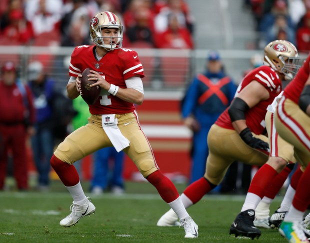 b66f24f0f 49ers Nick Mullens  trade value climbing with each upset