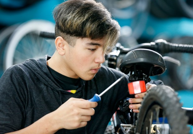 Not just for tech workers: East Palo Alto youth get free bikes of their own