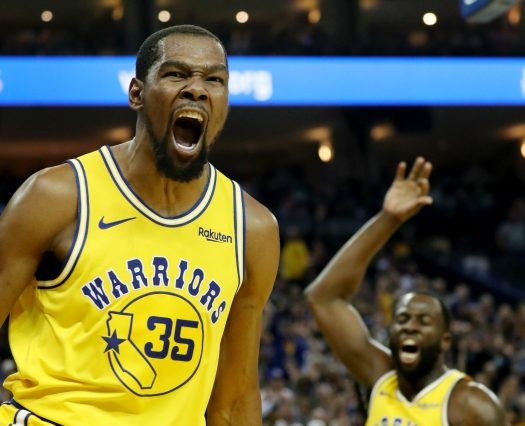 Warriors' Kevin Durant ejected in Warriors-Nuggets game