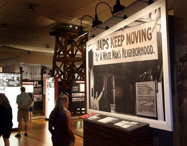 Inside the Manzanar National Historic Site