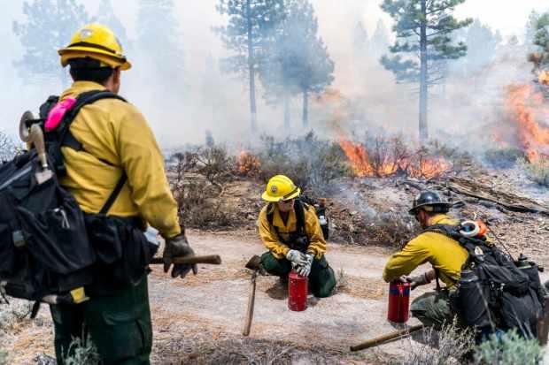 湿加州冬季是滑雪者和供水的福音。 但它带来了威胁:野火。