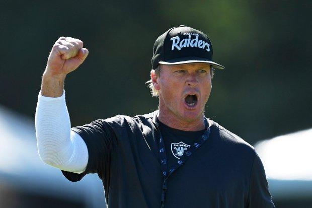 Kurtenbach: All jokes aside, Jon Gruden's Raiders' offense is worth your optimism