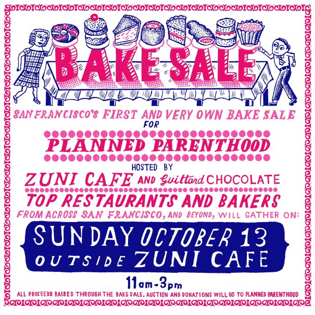 First-ever San Francisco bake sale for Planned Parenthood
