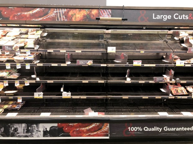 Coronavirus: Bay Area shoppers rush to clear grocery store shelves