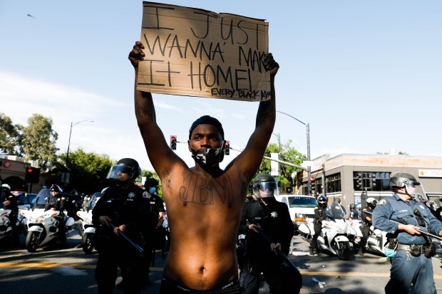 Photos: A look back at Bay Area protests after George Floyd's death 6