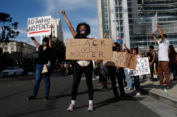 Photos: A look back at Bay Area protests after George Floyd's death 22