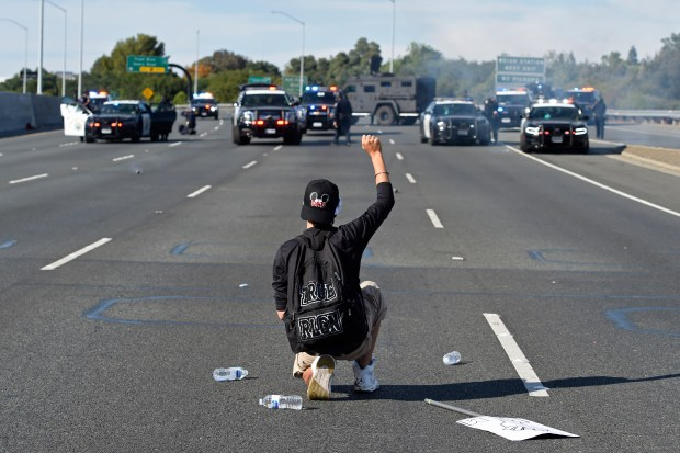 Photos: A look back at Bay Area protests after George Floyd's death 14