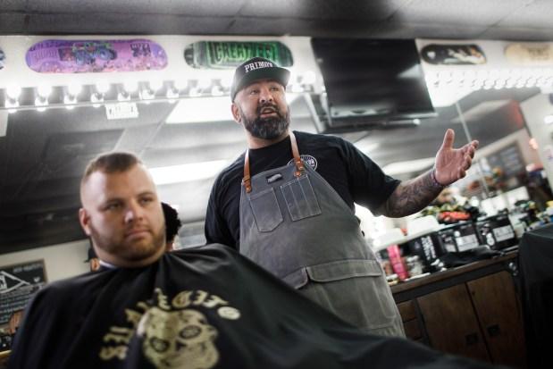 Snippy over Trump-Biden, California voters unload in hair salons, barbershops