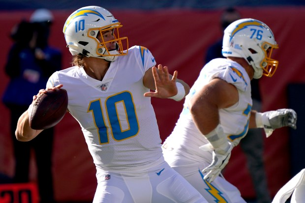 Focus On Los Angeles Chargers In Middle Of Record Breaking Streak Of Futility Daily Democrat