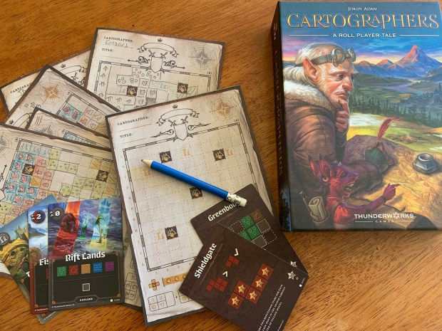 Board game night: 4 great new – or newish – board and card games