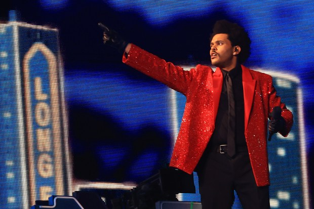 Image result for super bowl lv the weeknd