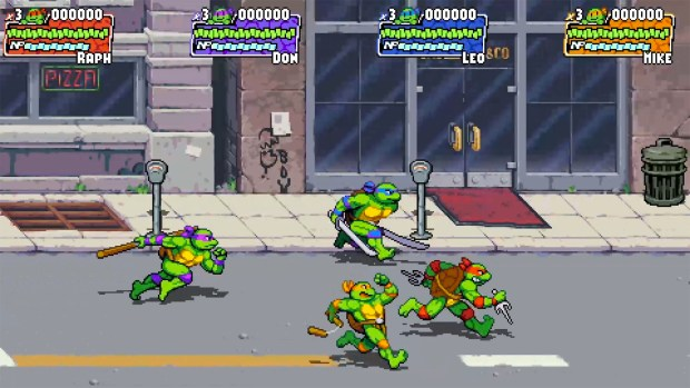 Jeu vidéo Teenage Mutant Ninja Turtles