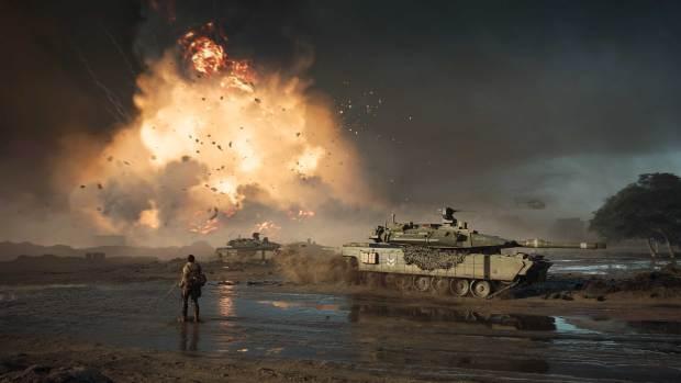 Battlefield 2042 explosions