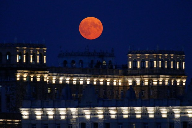 Photos: Final supermoon of 2021 is of the strawberry variety