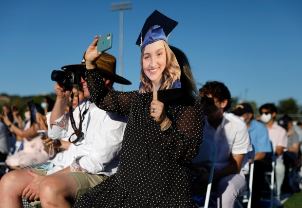 Photos: Leland High School honors their Class of 2021 with two socially distanced graduation ceremonies 4