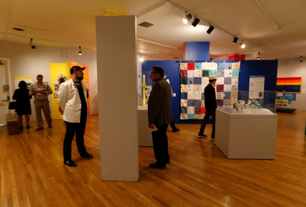Photos: LGBTQ exhibit focused on Silicon Valley movement opens at History Park 9
