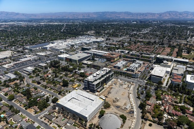 Modern office building next to San Jose's Santana Row is completed, ready for tenants 5