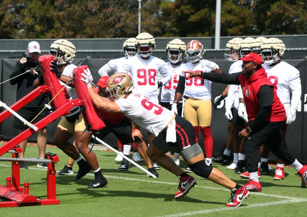 49ers' Nick Bosa undecided on COVID vaccine, on track to play in season opener after ACL tear 2