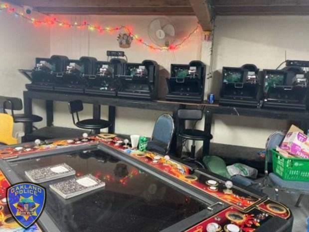 Alleged underground casino broken up, police say