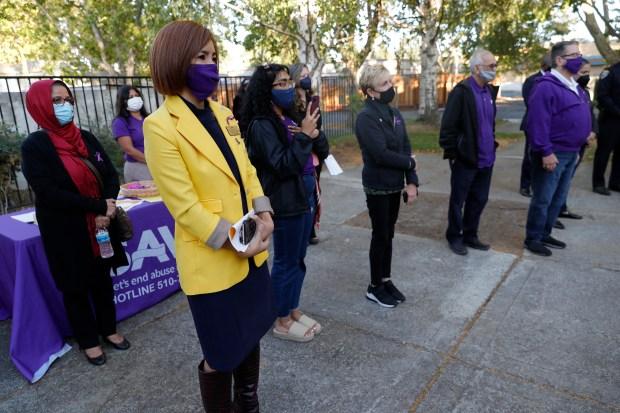 Photos: Safe Alternatives to Violent Environments (SAVE) Community Candlelight Vigil in Fremont