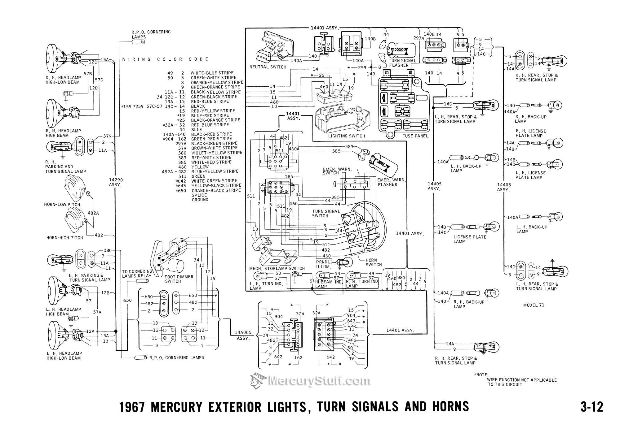 69 Cougar Wiring Diagram Detailed Schematics 1967 Dash