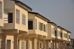 Newly Built Shell 4 Bedroom Terraces, Lekki Gardens