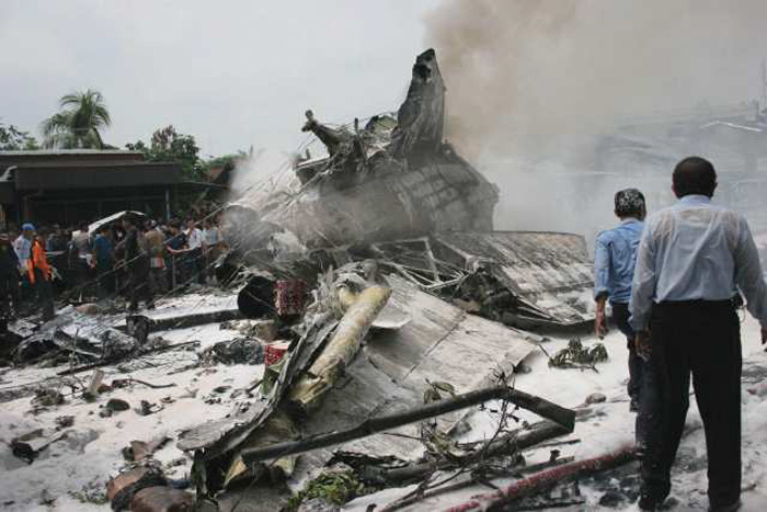 Mandala Plane Crash 2005