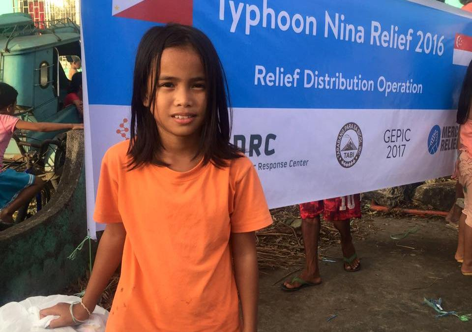 Mercy Relief heartened by community support in raising funds for typhoon survivors in the Philippines