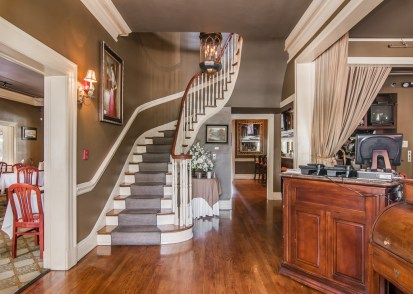Foyer & Front Staircase