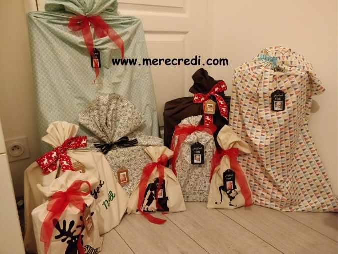 emballages cadeaux zéro déchet