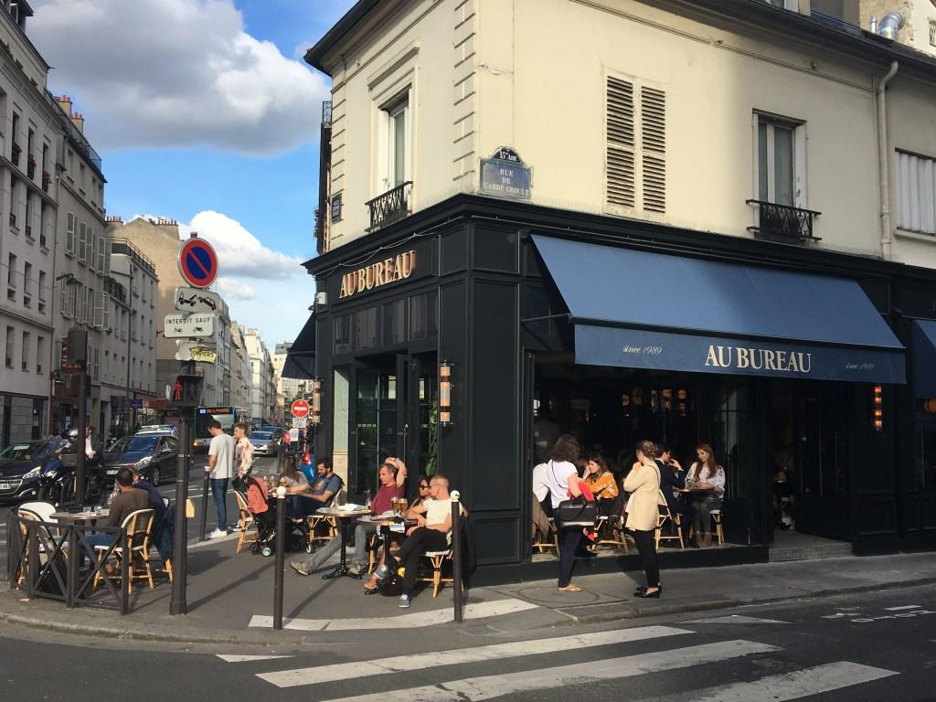 Hotspot in Parijs: Au bureau