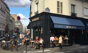 Hotspot in Paris: au bureau