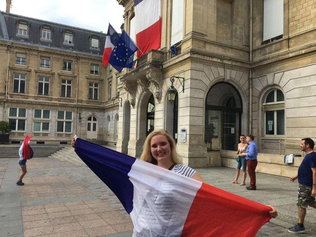 'Ik keek de WK-finale met locals in Parijs.'