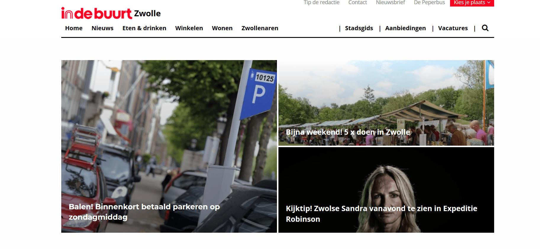 6 x artikelen die ik voor indebuurt Zwolle schreef