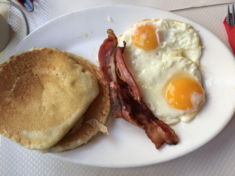 Ontbijt Breakfast in America