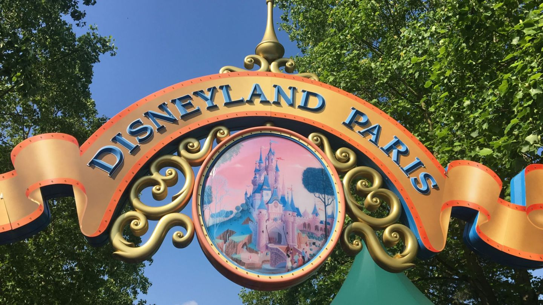 Entrance Disneyland Paris
