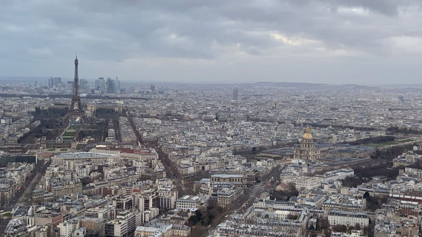 View from tour Montparnasse