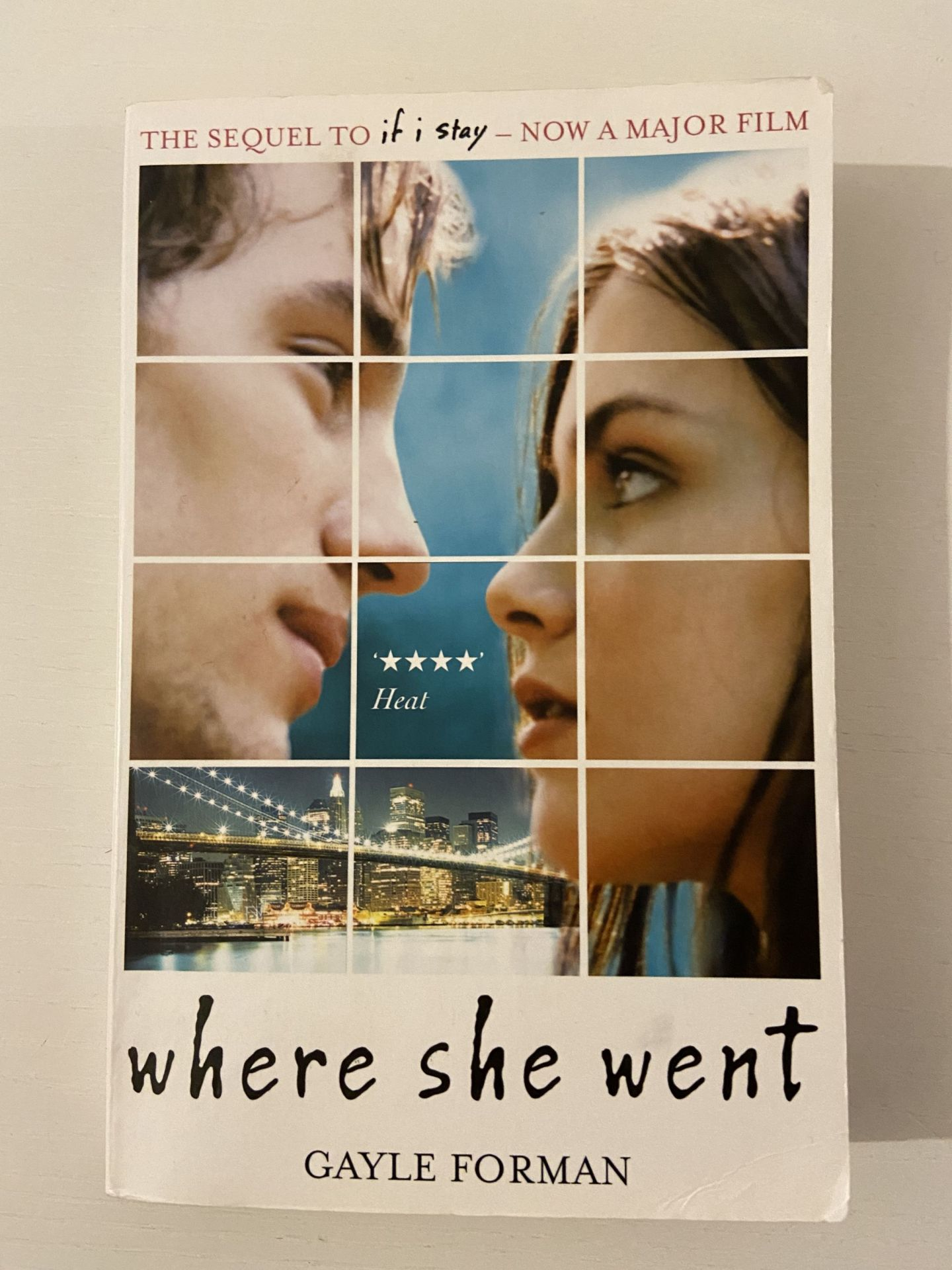 Where she went - book review