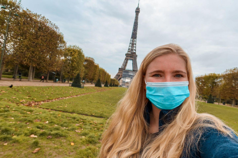 lockdown in Parijs