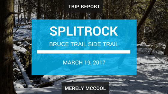 Trip Report: Hiking the Splitrock side trail, along the Bruce Trail