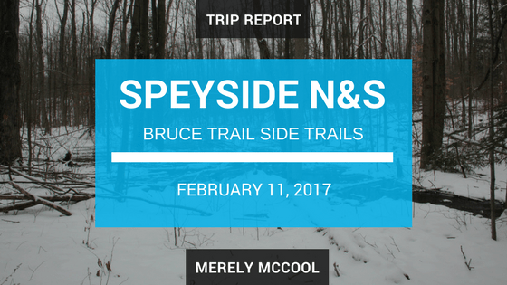 Trip Report: Exploring the North and South Speyside side trails, along the Bruce Trail.