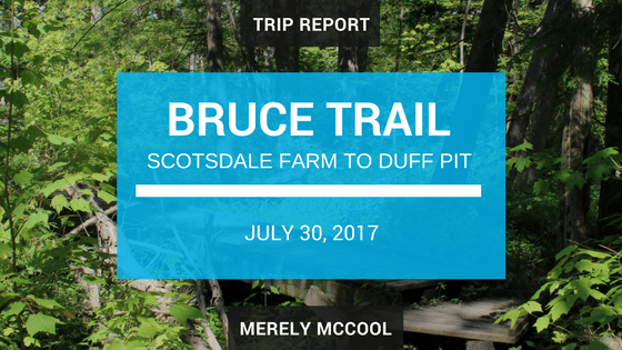 Scotsdale Farm to Diff Pit Side Trail