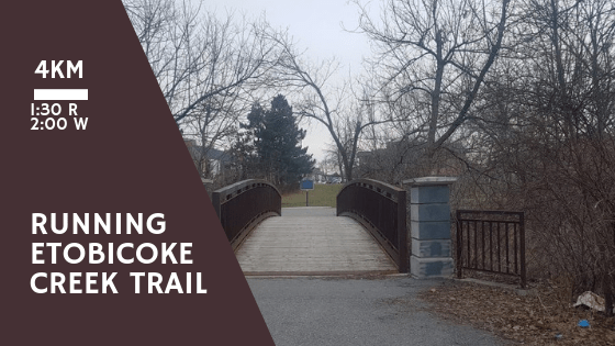 Running Etobicoke Creek Trail - Brampton, Ontario - Merely McCool