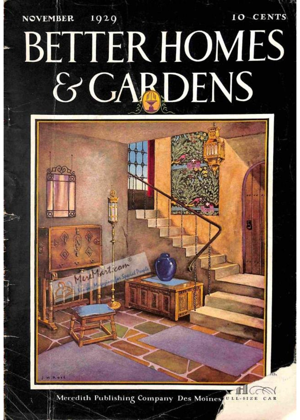 Better Homes and Gardens Magazine November 1929