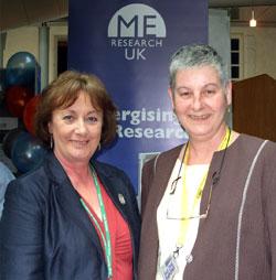 Linda Dunn (CPG member) and Fiona McLeod MSP