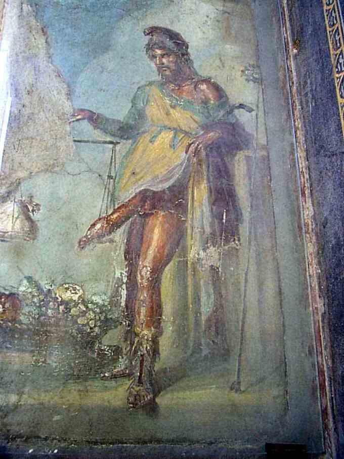 Priapus Freskó